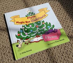 With this Christmas book I illustrated you can have your child's name printed on the cover and throughout the book.  It's really cool!  You can page through the book here and also purchase it if you'd like:  www.frecklebox.com/personalized-christmas-story-books-1804p.aspx