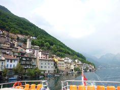 """""""Nave"""" Gandria→Lugano, Lago di Lugano, Gandria Lugano Ticino Swiss"""