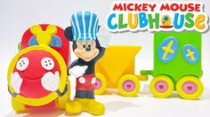 Disney Mickey Mouse Clubhouse Toys Choo Choo Train Playset Video by Disn...
