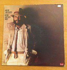 Roy Ayers You Send Me LP Vinyl 1978 Polydor 1-6159 VG+ Funk Soul Bernard Purdy #AfrobeatFunkPostDiscoSoul