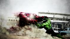 Avengers Age of Ultrons amazing concept art includes Happy Hulk