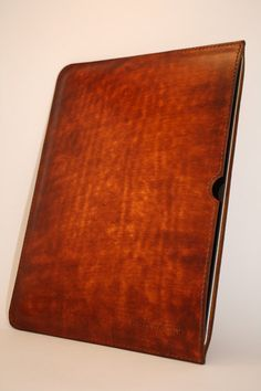 make: ipad leather case, SM branded