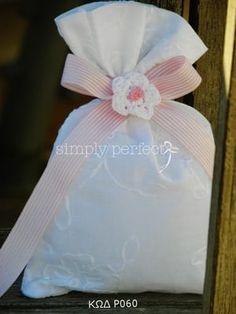 Μπομπονιερες Βαπτισης — Simply perfect Baptism Favors, Shabby Chic, Handmade Baby, Gift Bags, Party Planning, Gift Wrapping, Baby Shower, Projects, Big Project