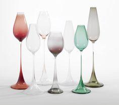 """** Nils Landberg """"Tulpan"""" vases"""