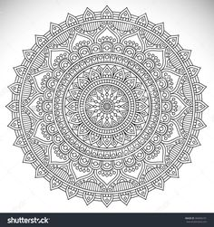 Mandala. Vintage Decorative Elements. Oriental Pattern, Vector Illustration. Islam, Arabic, Indian, Turkish, Pakistan, Chinese, Ottoman Motifs - 360696101 : Shutterstock