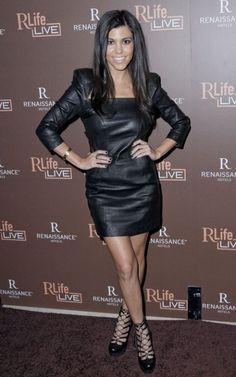 Kourtney Kardashian fashion