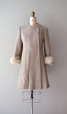 1960s coat | fox fur coat | Foreign Lands coat