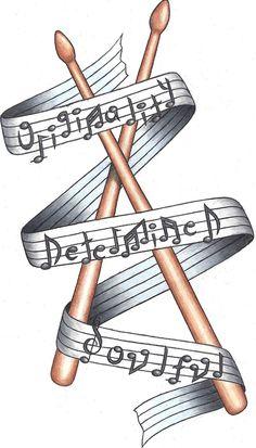 drumstick tattoo