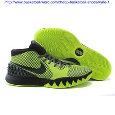 big sale 860d5 81970 Find Quality Nike Kyrie 1 Fluorescent Green And Black For Sale and more on  Yeezyboost.me. Cheap Basketball Shoes
