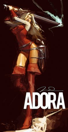 Masters of the Universe - Adora by Gerald Parel
