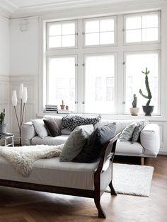 The lovely serene home of a Swedish singer