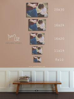 wall size comparison