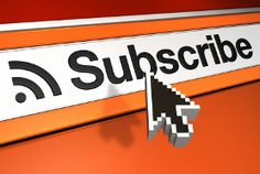 Subscribe option on blogposts etc up date loyal readers