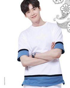 Lee Jong Suk - Lotte duty free Magazine