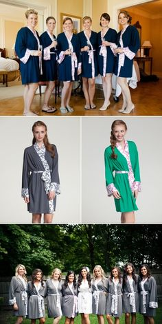 Doie Lounge Robes - idea for a bridesmaid gift