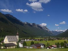 Waidring, Austria. This during a stretch of bike riding that most guests say they will never forget. As scenic as anything Disney could create.