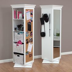 360 Degree Rotating Swivel Storage Mirror And Bookcase On Ikoala Home Furniture Deals