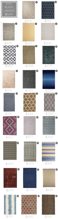 Best Rugs under $500_budget rug_modern_midcentury_affordable_roundup_emily henderson