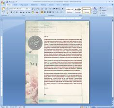 How to Repeat a Logo and Address on Each Page of Your Letterhead in Microsoft Word Mail Marketing, Online Marketing, Best Time To Post, Online Friends, Layout, Graphic Design Templates, Marketing Professional, Microsoft Word, Letterhead