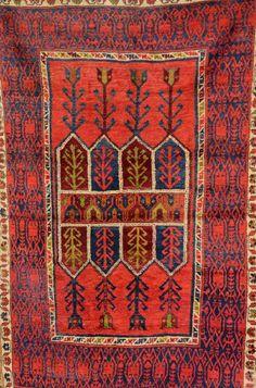 Anatolian Rug,, Anatolian Rug, Turkey, circa 1940, wool/wool, approx. 188 x 115 cm