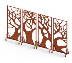 Tree of life laser cut screen