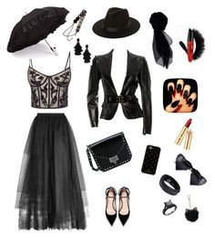 """Без названия #4"" by jiyuk on Polyvore featuring мода, Alexander McQueen, Gucci, Elie Saab, Valentino, Kate Spade, Lack of Color, Gizelle Renee, KOCCA и LC Lauren Conrad"