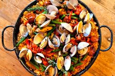There are literally hundreds of paella recipes and every cook has their own favorite recipe. At Spain-recipes. com we've collected some of our favorite paella recipes, we recommend trying them all to discover the full variety of Spanish Paella!!!
