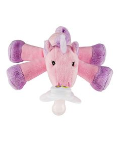 Paci-Plushies Unity Unicorn Shakies Pacifier & Rattle Plush Toy | zulily