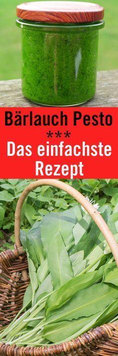 Bärlauchpesto selber machen ist aus gleich zwei Gründen eine gute Idee. Zum einen kann man das Bärlauchpesto natürlich sofort mit Pasta essen. Zum anderen kann man das Pesto portionsweise immer wieder als Zutat verwenden.
