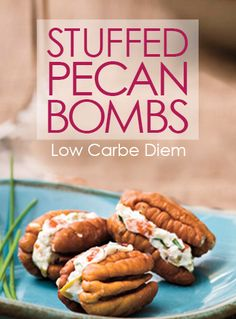 Savory or sweet, versatile bites of cream and crunch. Easy low carb/keto dessert or snack.