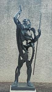 Gargallo - le prophète- Musée Reine Sofia- MADRID
