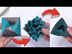 Papír játék anti stressz transzformátor | DIY könnyű kézműves - YouTube Origami Toys, Instruções Origami, Paper Crafts Origami, Paper Crafts For Kids, Diy Paper, Diy For Kids, Easy Diy Crafts, Diy Craft Projects, How To Make Greetings