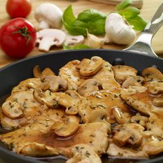Chicken Marsala on a weeknight! It's possible with this rich Tuscan blend of seasonings and Marsala wine along with your chicken and mushrooms.
