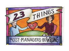 23 Things Most Managers Do Wrong