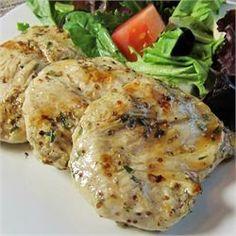 Grilled Rosemary Chicken Breasts from Semigourmet on Allrecipes.com - sooooo yummy, light, and fresh!!