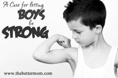 Let them be strong