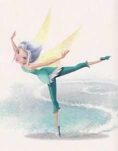 (over-the-shoulder fabric) Pixie Hollow Create a Fairy Tinkerbell Movies, Tinkerbell And Friends, Tinkerbell Fairies, Disney Pixar, Disney Animation, Disney Art, Disney Characters, Hades Disney, Disney Faries