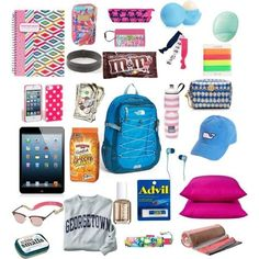 If u are all traveling u will need these things