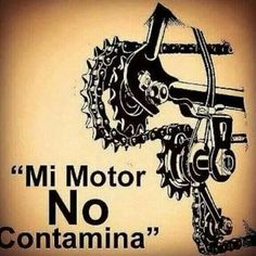 Mi motor no contamina Bicycle Art, Mountain Biking, Cycling, Pure Products, Wallpapers, Running, Design, Cycling Motivation, Tattoo Ideas