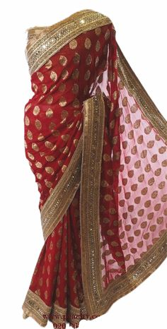 Simple Blouse Designs, Stylish Dress Designs, Saree Blouse Designs, Lehenga Designs, Red Saree Wedding, Indian Wedding Wear, Wedding Dress, Stylish Sarees, Stylish Dresses