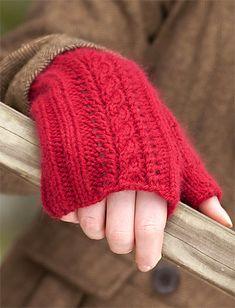 Ravelry: Lush Fingerless Mitts pattern by Susan Mills