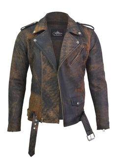 Biker Style, Jacket Style, Jacket Men, Vintage Leather Motorcycle Jacket, Zombie Clothes, Flannel Shirt Outfit, Designer Suits For Men, Slim Fit Suits, Cool Jackets
