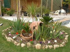 Βραχοκηποι Outdoor, Plants, Landscape, Curb Appeal, Garden, Mediterranean Garden