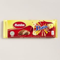 For a great treat, this is wonderful chocolate, of course Marabou also has milk, dark, hazelnut and other options, if you like chocolate you should try this!