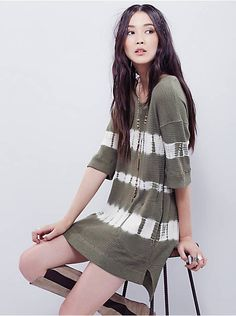 Free People We The Free Canyon Wash Tunic, $88.00