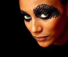 Black  Elegant eye
