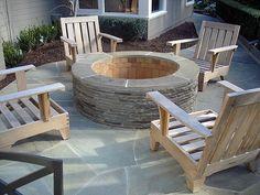 blue stone patios | Bluestone Firepit and Patio, Tiburon, Marin County, CA - Heritage ...