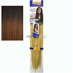 Freetress Senegalese Twist Small - Color TT30 - Synthetic Braiding