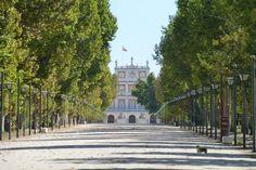 Alameda de entrada al Palacio Real de Aranjuez, Madrid