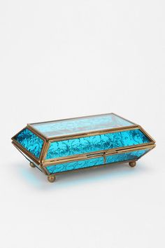 Etched Glass Jewelry Box from Urban Outfitters. Saved to Apartment/Decorating. Shop more products from Urban Outfitters on Wanelo.